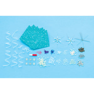 Beaded Snowflake Ornaments