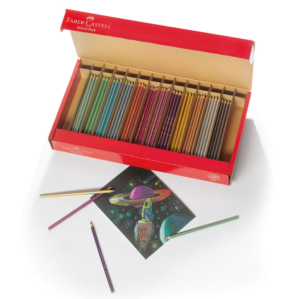Metallic Colored EcoPencils School Pack