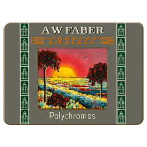 Polychromos® Artists' Color Pencils - 111th Anniversary 3/4 Length Limited Edition Tin of 12  - #211004