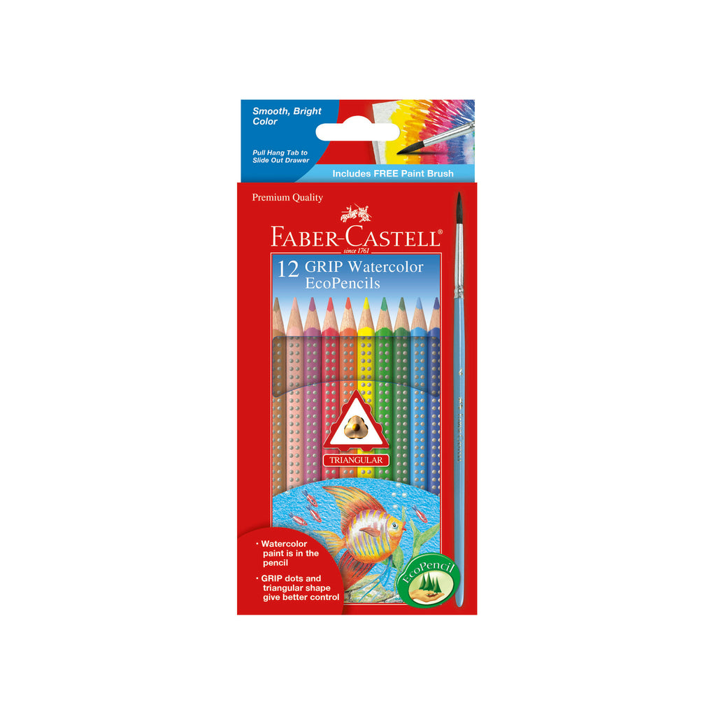 12 Grip Watercolor EcoPencils - #9121212