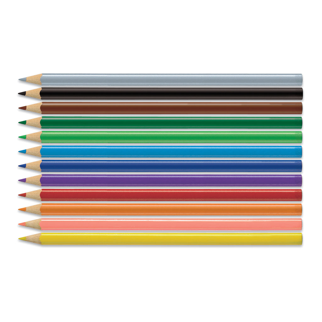12 Triangular Colored EcoPencils - #9120512