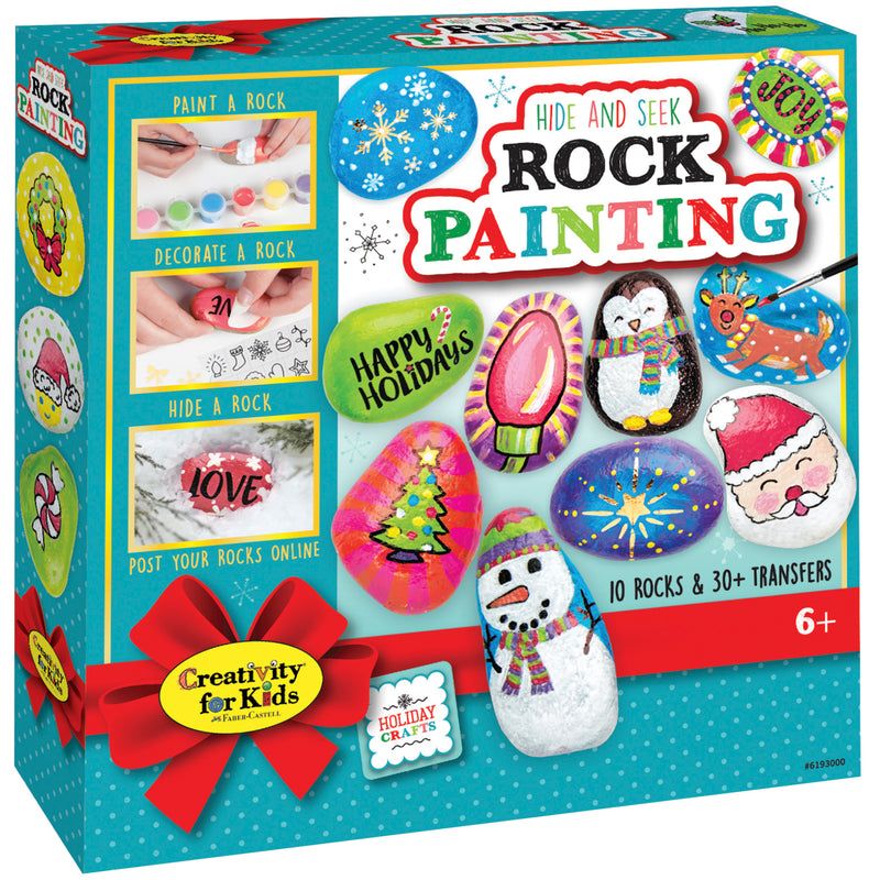 Holiday Hide and Seek Rock Painting Kit