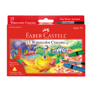 15 Watercolor Crayons - #9140315
