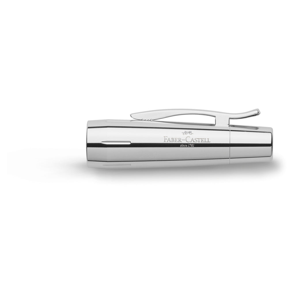 e-motion Fountain Pen, Rhombus White - Broad