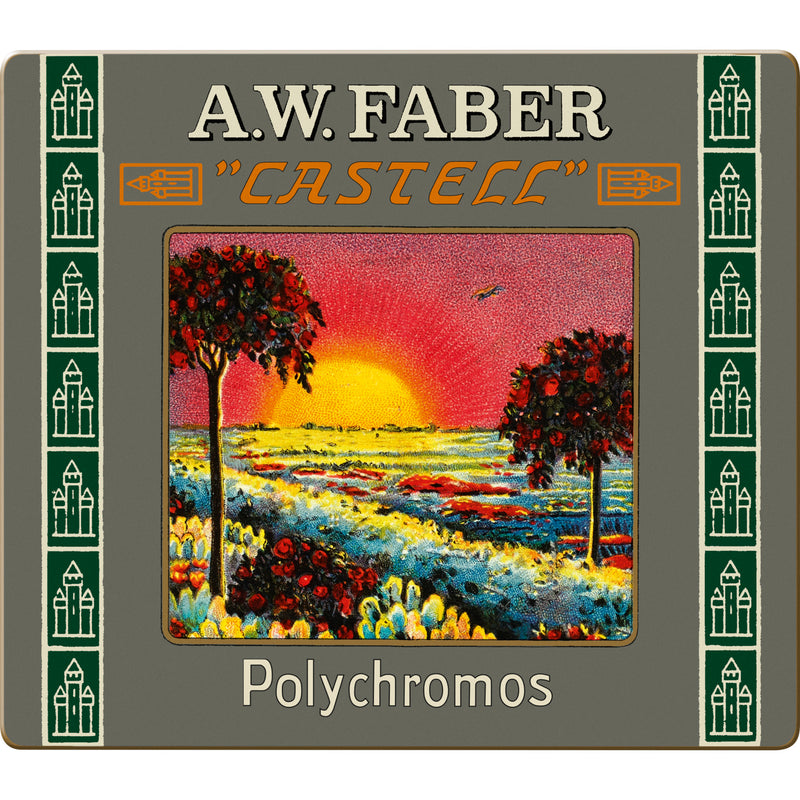 Polychromos® Artists' Color Pencils - 111th Anniversary Limited Edition Tin of 24 - #211002