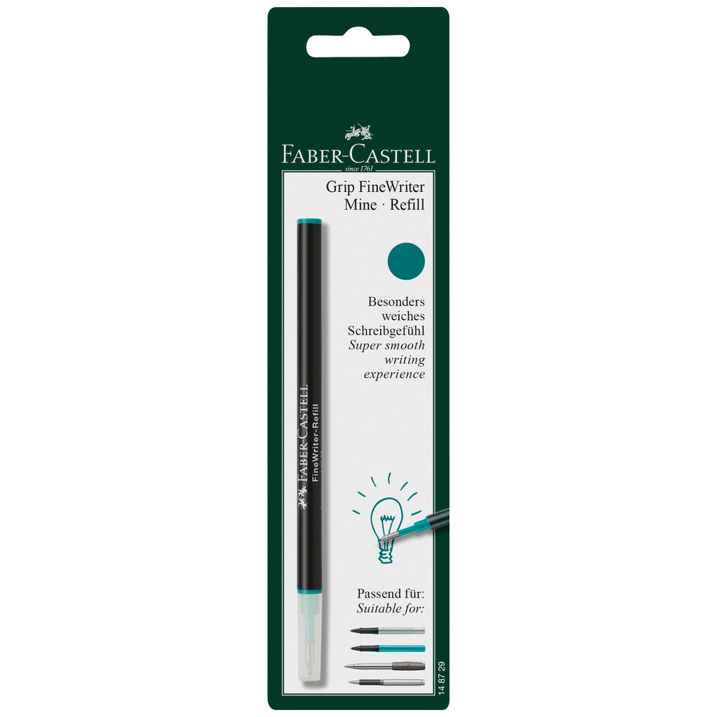 Refill FineWriter Turquoise Blistercard of 1