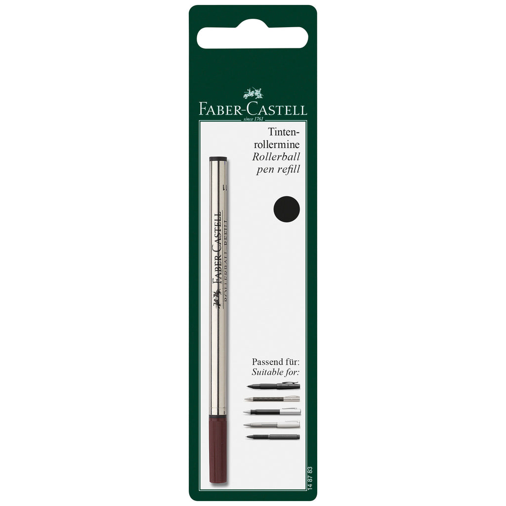 Rollerball Refill Black, Medium