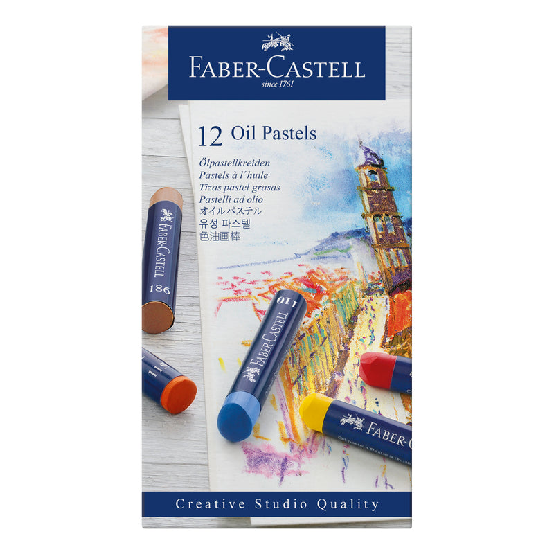 Oil Pastel Crayons - Box of 12 - #127012