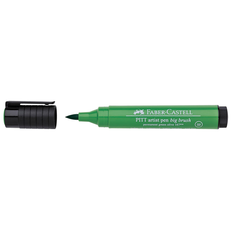 Pitt Artist Pen® Big Brush - #167 Permanent Green Olive - #167667