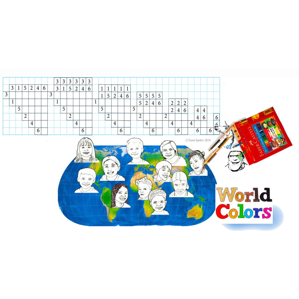 World Colors School Pack - #900011