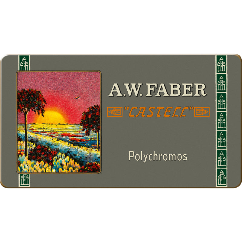 Polychromos® Artists' Color Pencils - 111th Anniversary Limited Edition Tin of 12 - #211001
