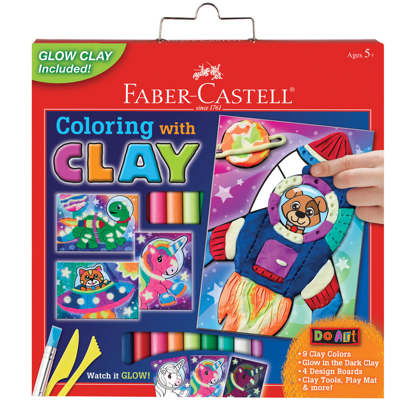Do Art Coloring with Clay Space Pets - #14347