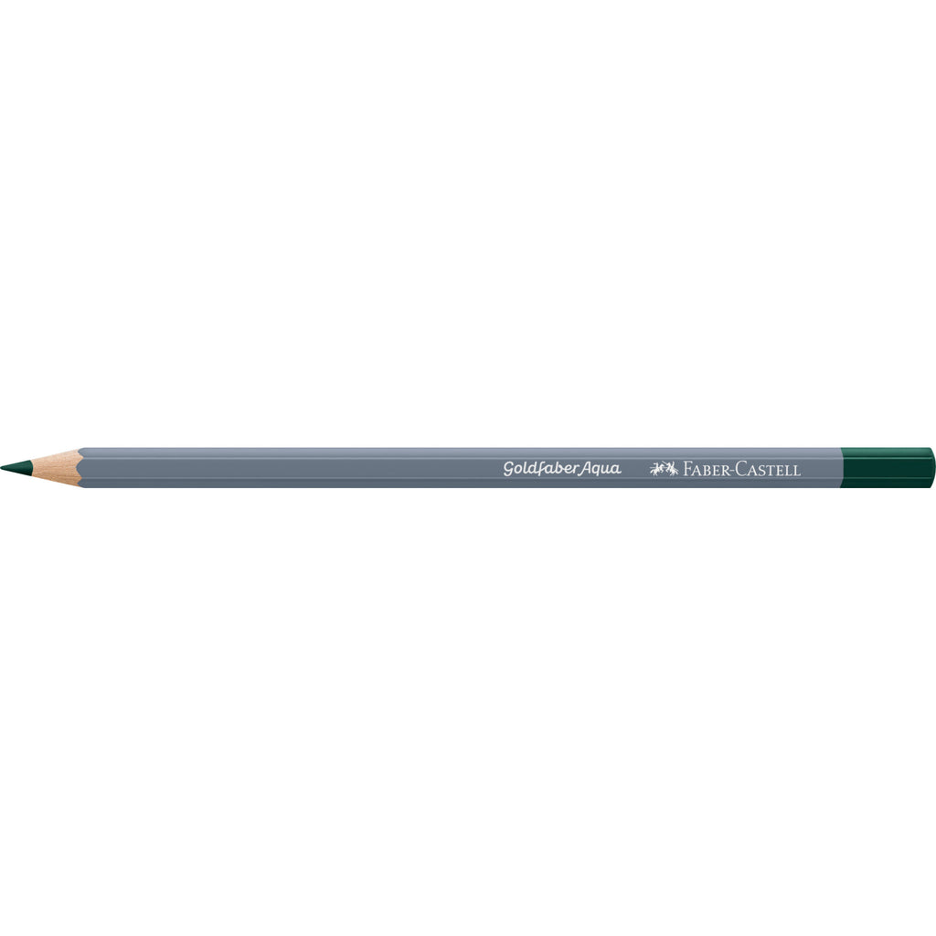 Goldfaber ™ Aqua Watercolor Pencil - #158 Deep Cobalt Green