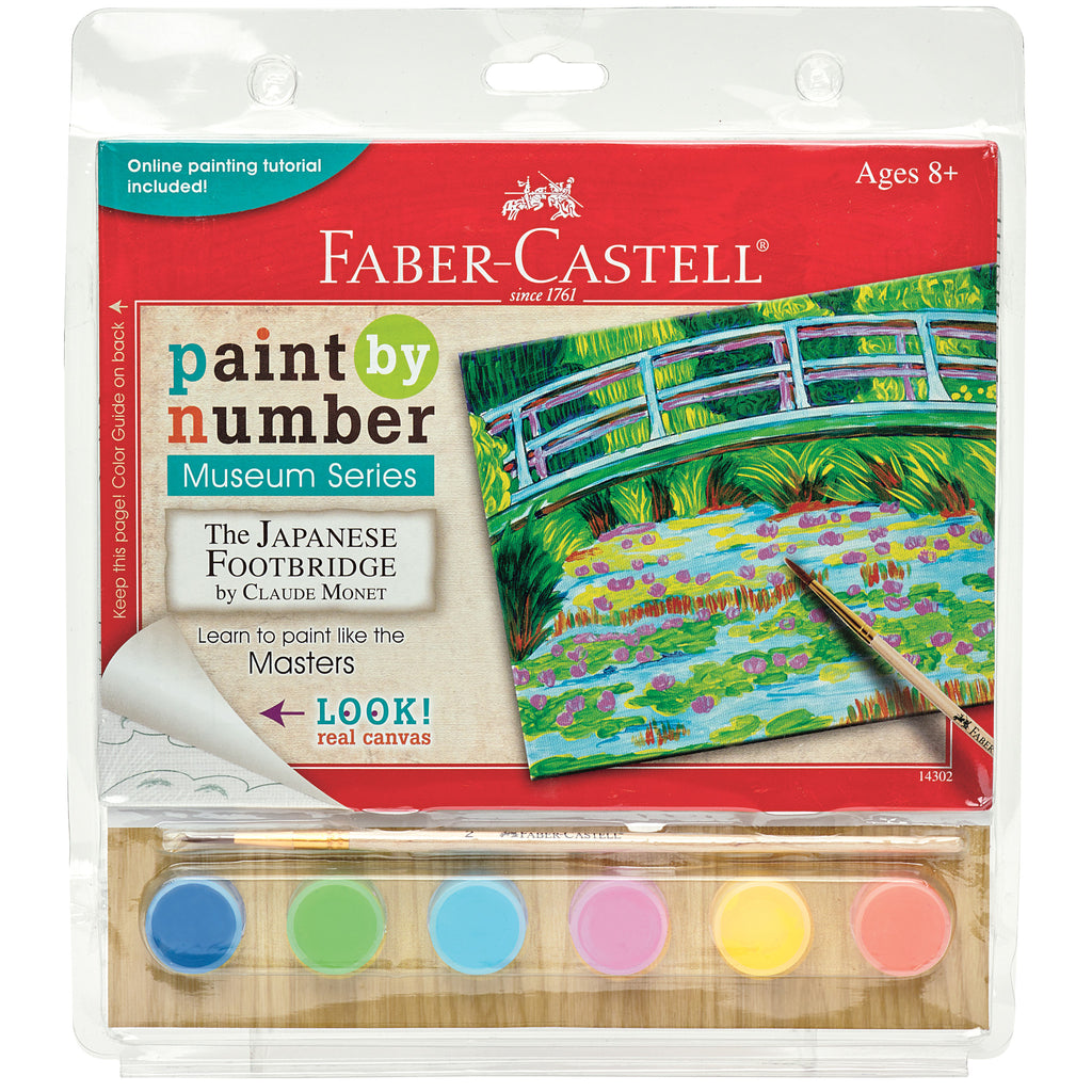 Paint by Number Museum Series - The Japanese Footbridge - #14302