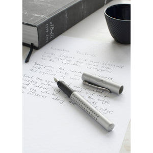 Grip 2011 Fountain Pen, Silver - Extra Fine - #140992