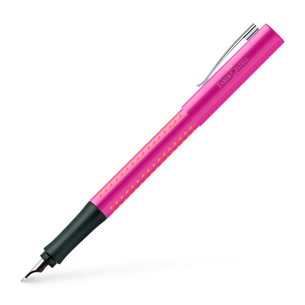 Grip 2010 Fountain Pen, Pink/Orange - Fine - #140924