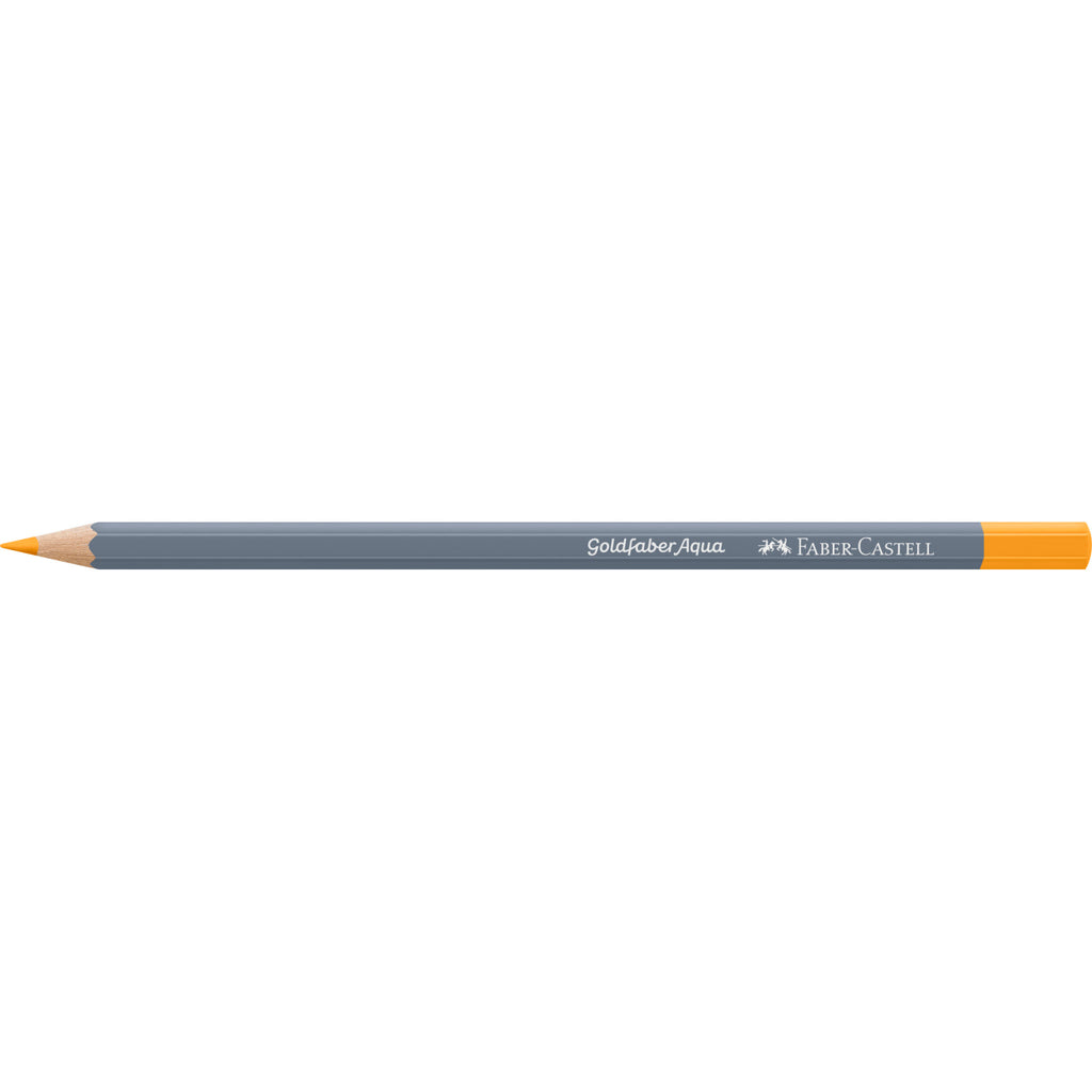 Goldfaber Aqua Watercolor Pencil - #109 Dark Chrome Yellow - #114609
