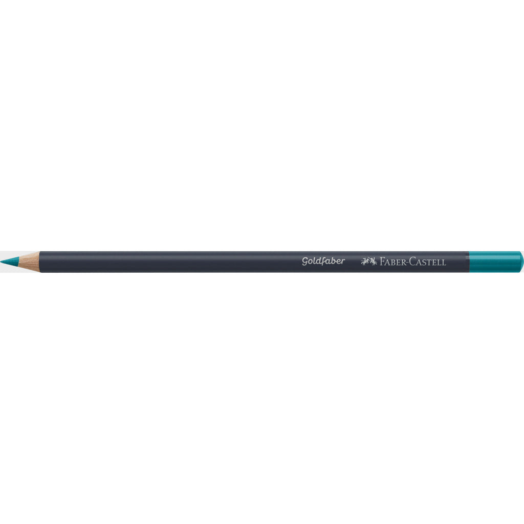 Goldfaber ™ Color Pencil - #154 Light Cobalt Turquoise