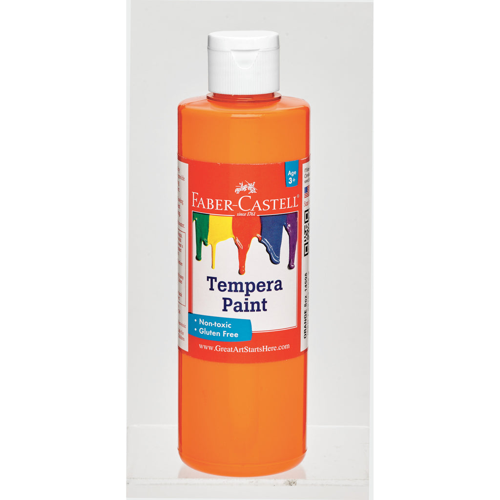 Orange Tempera Paint  - #14598