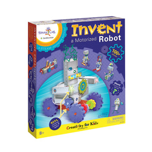 Invent a Motorized Robot - #3613000
