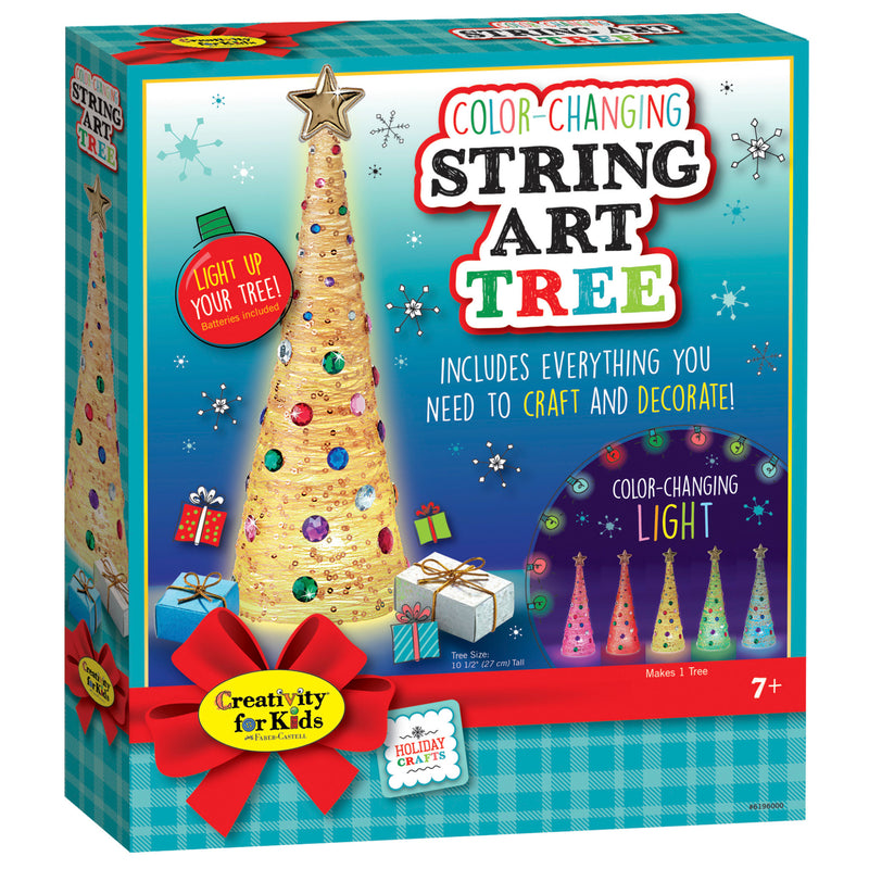 Color-Changing String Art Tree - #6196000