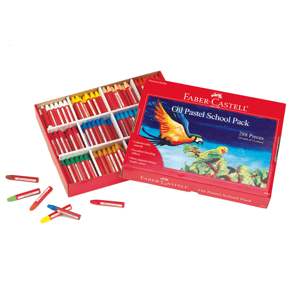 Oil Pastels School Pack