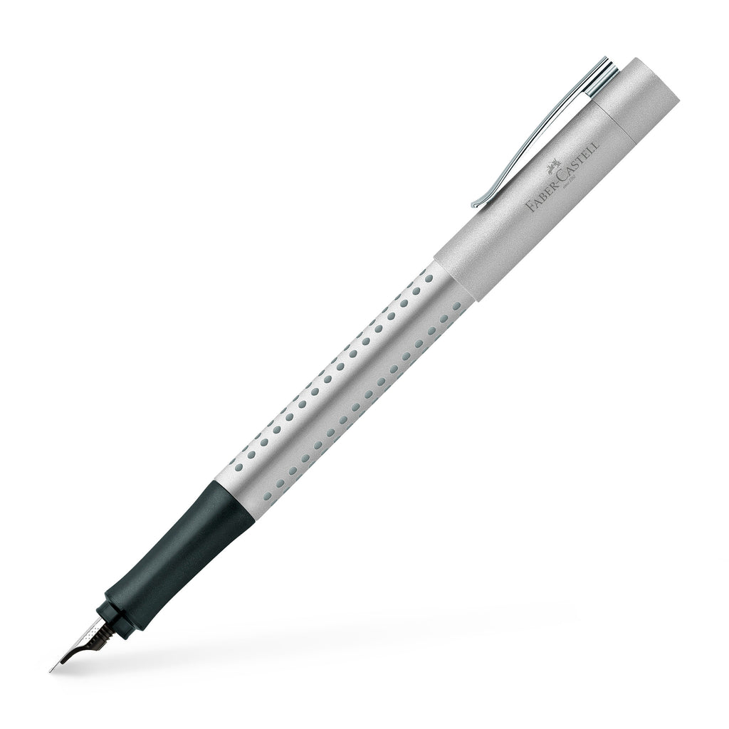 Grip 2011 Fountain Pen, Silver - Medium - #140900