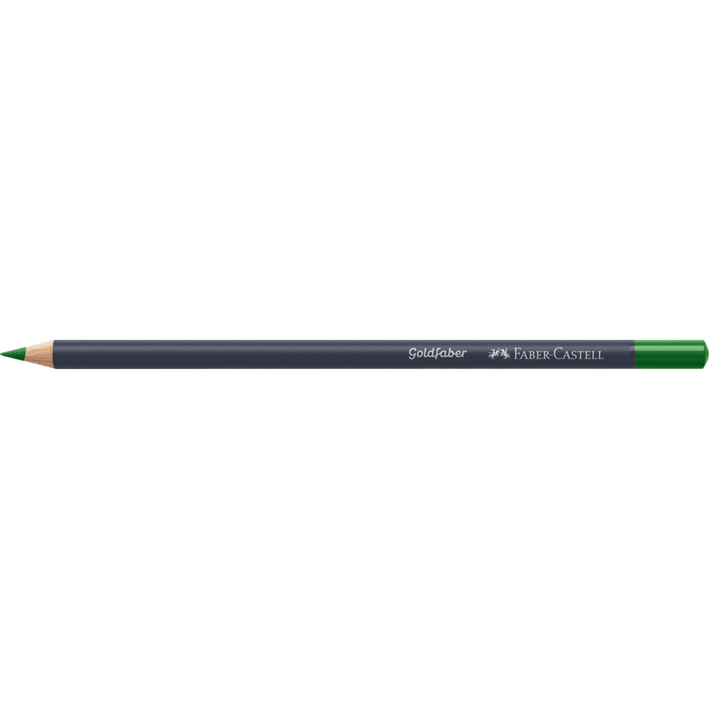 Goldfaber Color Pencil - #266 Permanent Green - #114796