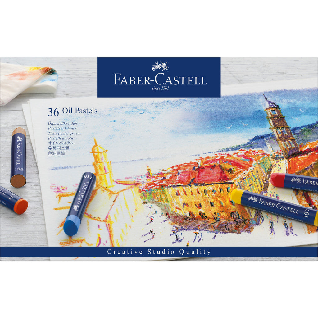 Oil Pastel Crayons - Box of 36