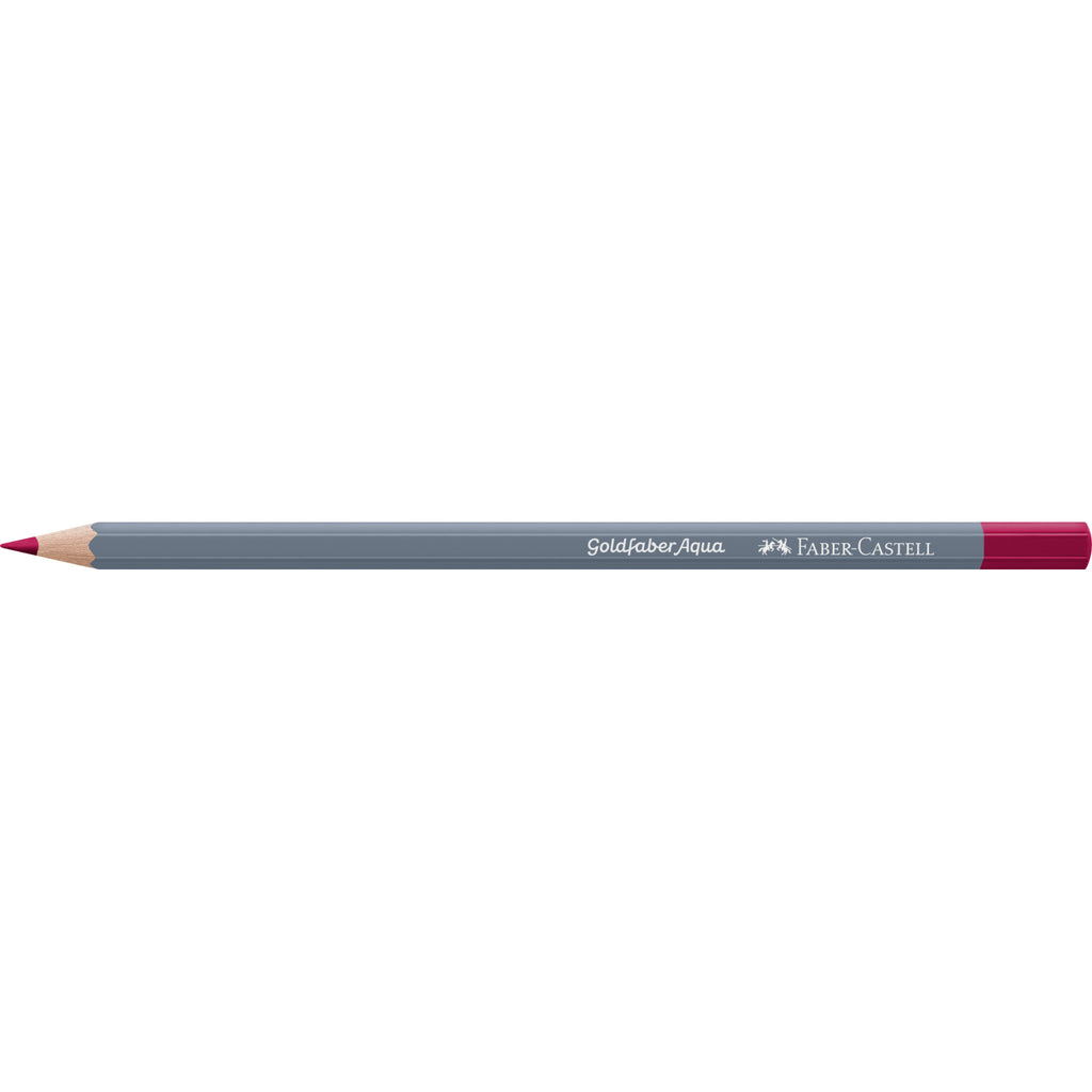 Goldfaber Aqua Watercolor Pencil - #126 Permanent Carmine - #114626