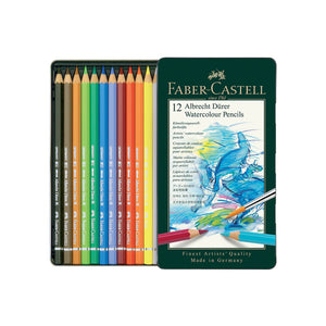 Albrecht Dürer® Artists' Watercolor Pencils - Tin of 12 - #117512