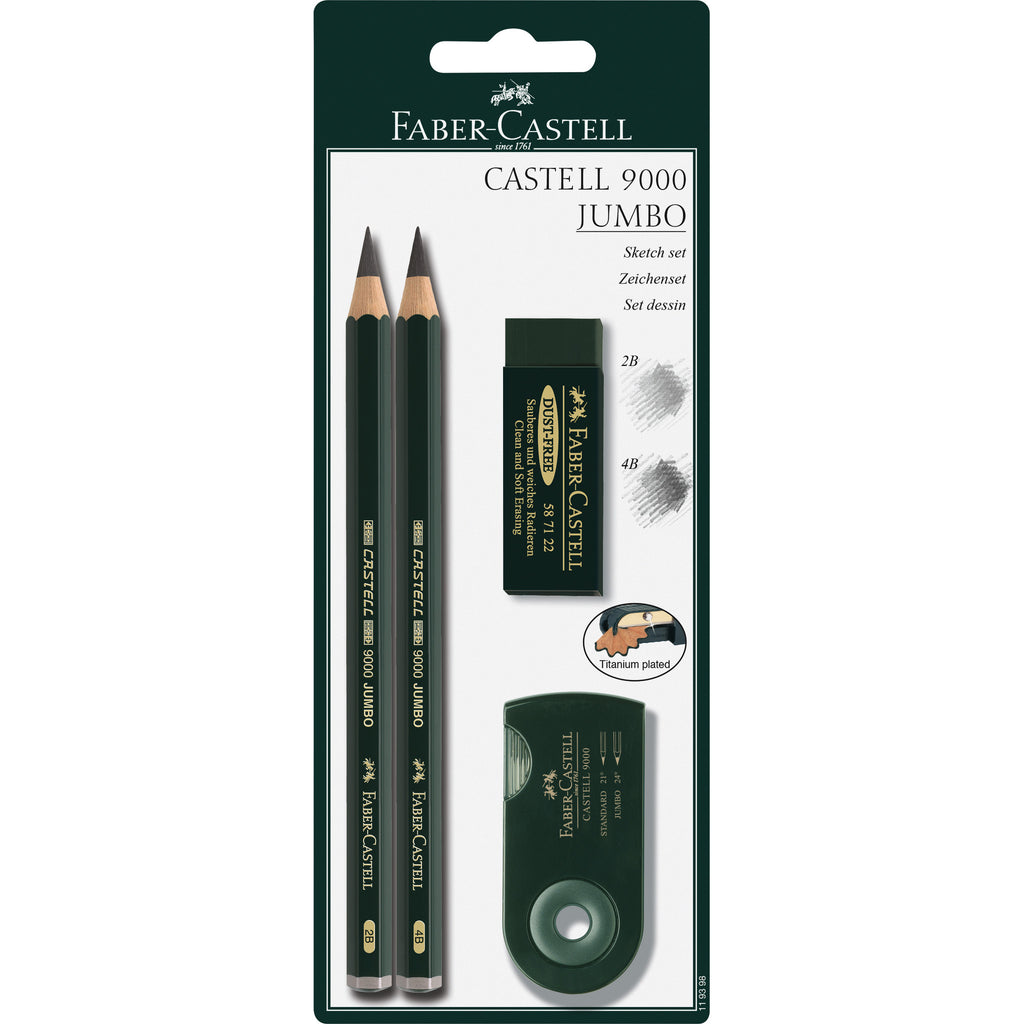 Castell® 9000 Jumbo Drawing Set - #119398