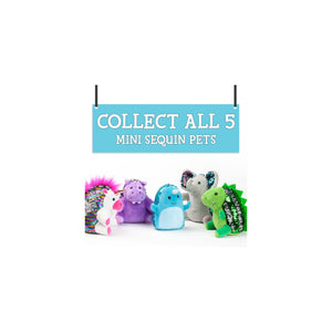 Mini Sequin Pets - Dazzle the Dinosaur - #6216000