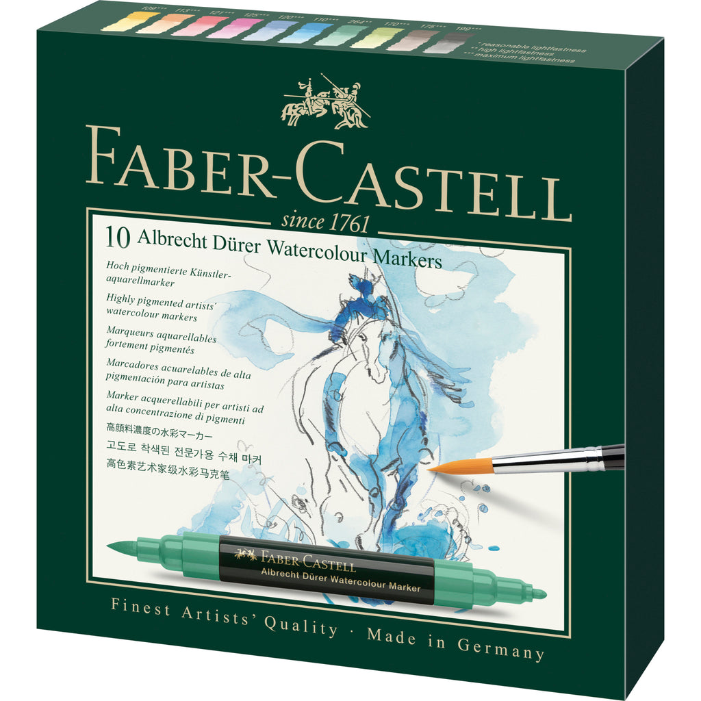 Albrecht Dürer® Watercolor Markers - Gift Box of 10 - #160310