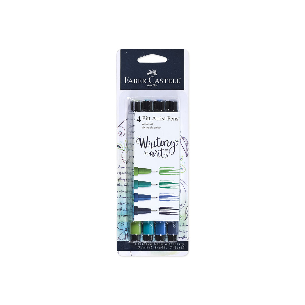 Pitt Artist Pen® - Writing Art - Blue/Green - #770077