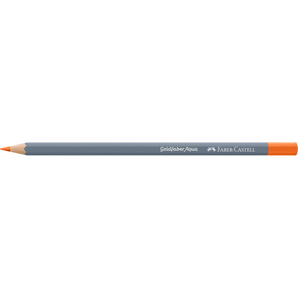 Goldfaber Aqua Watercolor Pencil - #115 Dark Cadmium Orange - #114615