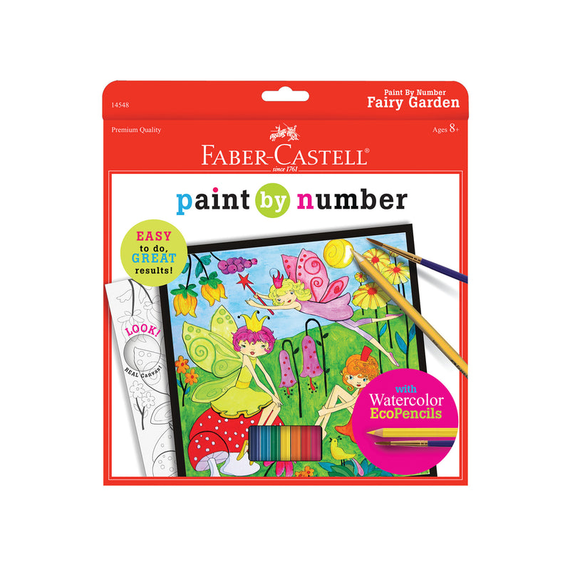 Paint by Number Fairy Garden