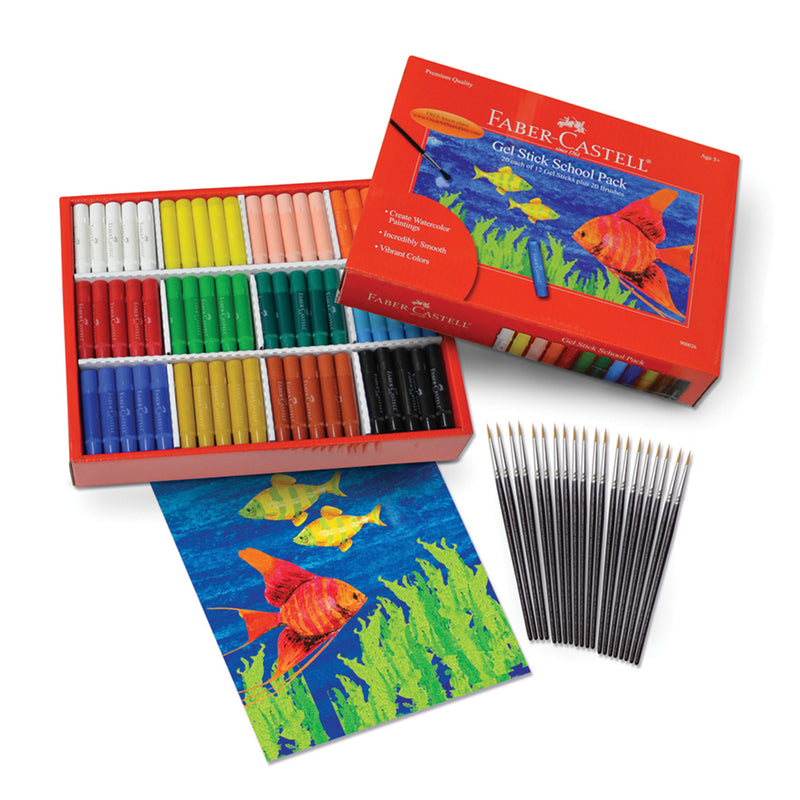Gel Stick School Pack