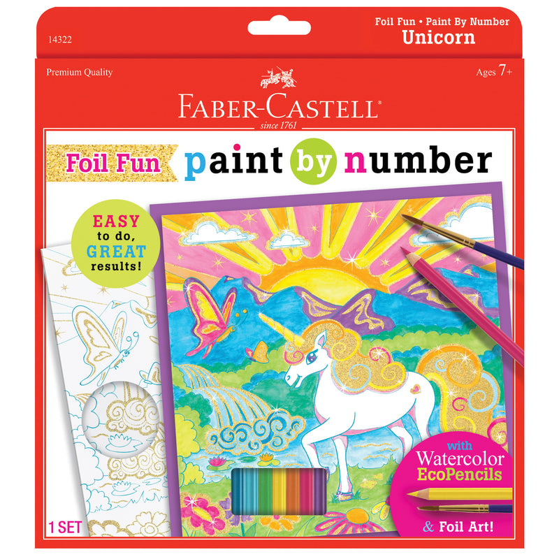 Paint by Number Unicorn Foil Fun - #14322
