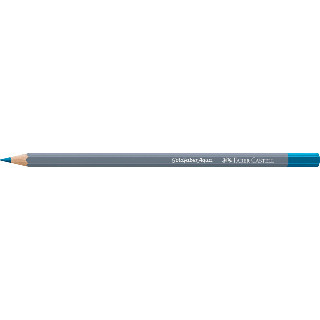 Goldfaber Aqua Watercolor Pencil - #153 Cobalt Turquoise - #114653