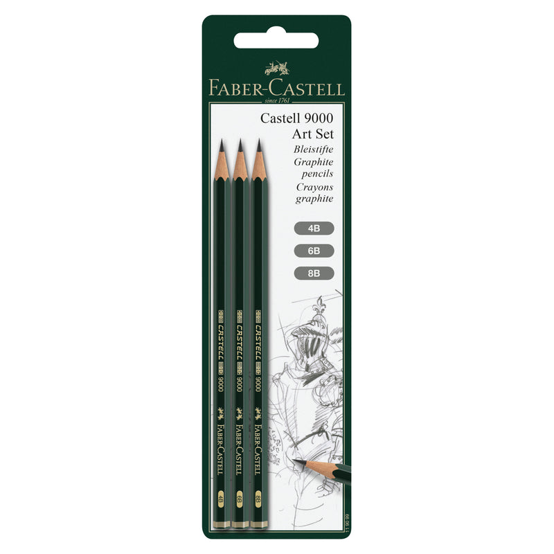 Castell® 9000 Art Set - Assortment of 3 - #119099