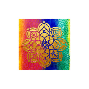 Mixed Media Stencils - Mandala - #770610