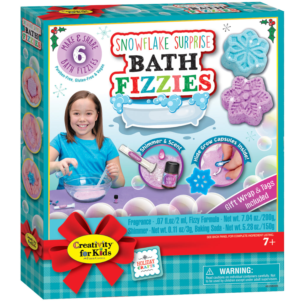 Snowflake Surprise Bath Fizzies