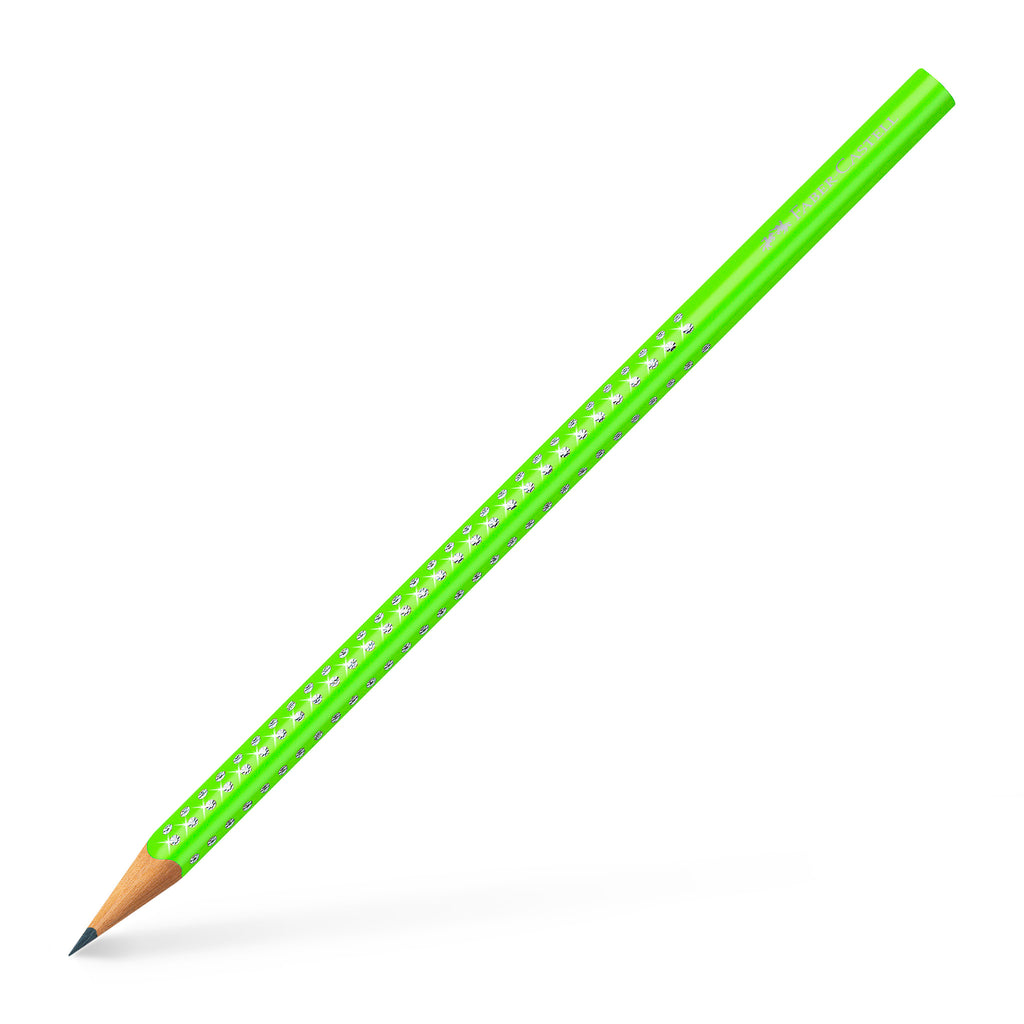 Sparkle Pencil - Neon Green