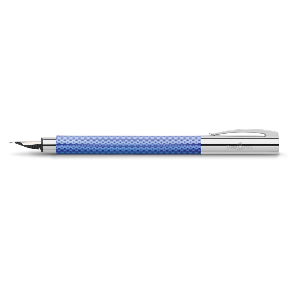 Ambition Fountain Pen - OpArt Blue Lagoon, Extra Fine - #149682