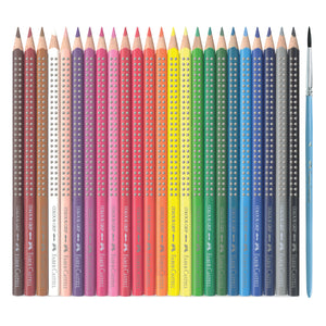 24 Grip Watercolor EcoPencils - #9121224