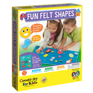 Fun Felt Shapes - #1274000