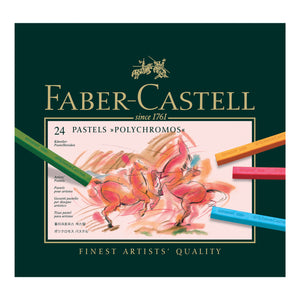Polychromos® Artists' Pastel Crayons - Box of 24 - #128524