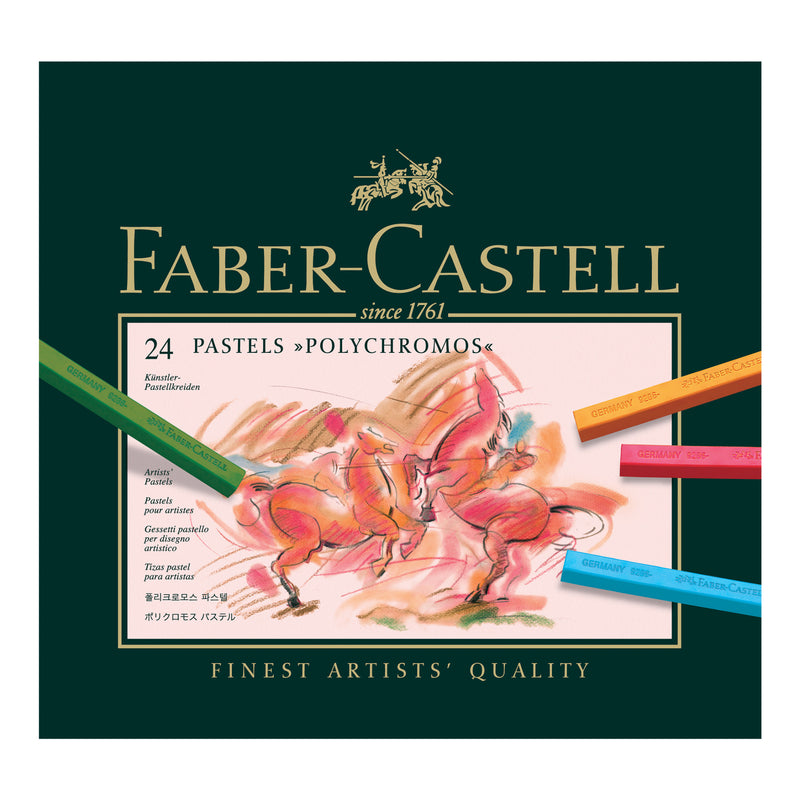Polychromos® Artists' Pastel Crayons - Box of 24