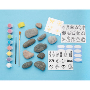 Holiday Hide and Seek Rock Painting Kit - #6193000